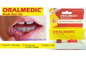 ORALMEDIC® Trị nhiệt miệng trong 5 giây